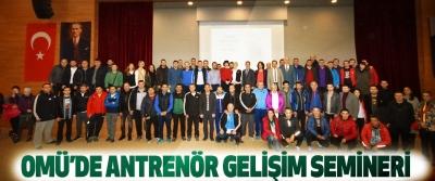 OMÜ'de Antrenör Gelişim Semineri