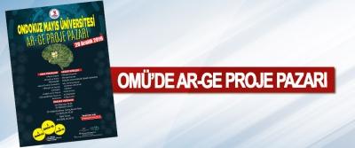 OMÜ'de Ar-Ge Proje Pazarı