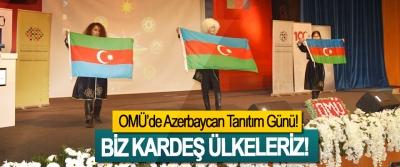 OMÜ'de Azerbaycan Tanıtım Günü!