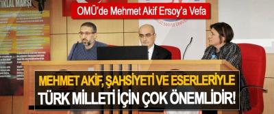 OMÜ'de Mehmet Akif Ersoy'a Vefa