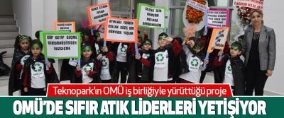 Omü'de Sıfır Atık Liderleri Yetişiyor