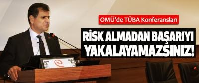 OMÜ'de TÜBA Konferansları