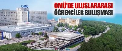OMÜ'de Uluslararası Öğrenciler Buluşması