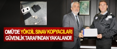 OMÜ'DE YÖKDİL Sınav Kopyacıları Güvenlik Tarafından Yakalandı!