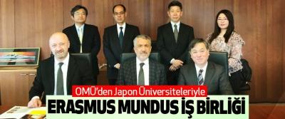 OMÜ'den Japon Üniversiteleriyle Erasmus Mundus İş Birliği