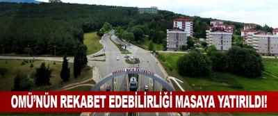 Omü'nün Rekabet Edebilirliği Masaya Yatırıldı!