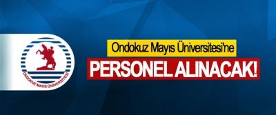 Ondokuz Mayıs Üniversitesi'ne Personel Alınacak!