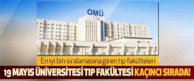 Ondokuz Mayıs Üniversitesi Tıp Fakültesi Kaçıncı Sırada!