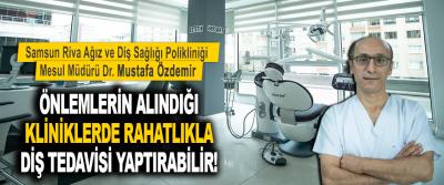Önlemlerin Alındığı Kliniklerde Rahatlıkla Diş Tedavisi Yaptırabilir!