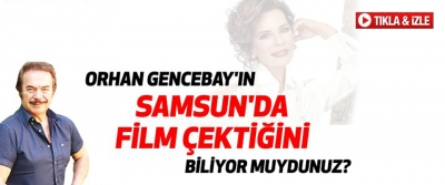 Orhan Gencebay'ın Samsun'da Çektiği Film -
