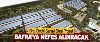 Orta Ölçekli Sanayi Sitesi Projesi Bafra'ya Nefes Aldıracak
