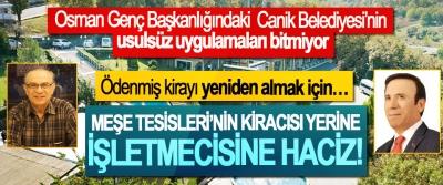 Osman Genç Başkanlığındaki Canik Belediyesi'nin usulsüz uygulamaları bitmiyor