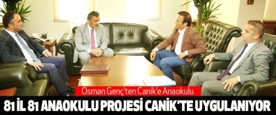 Osman Genç'ten Canik'e Anaokulu