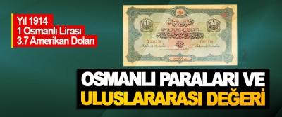 Osmanlı Paraları Ve Uluslararası Değeri