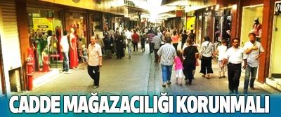 Palandöken: Cadde Mağazacılığı Korunmalı