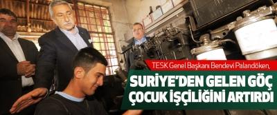 Palandöken, Suriye'den Gelen Göç, Çocuk İşçiliğini Artırdı