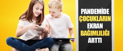 Pandemide Çocukların Ekran Bağımlılığı Arttı