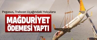 Pegasus, Trabzon Uçağındaki Yolculara Mağduriyet Ödemesi Yaptı