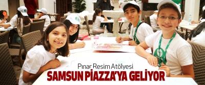 Pınar Resim Atölyesi Samsun Piazza'ya Geliyor