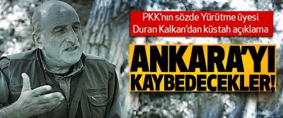 PKK'nın sözde Yürütme üyesi Duran Kalkan'dan küstah açıklama