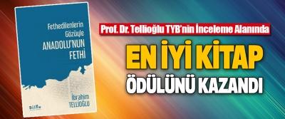 Prof. Dr. Tellioğlu TYB'nin İnceleme Alanında En İyi Kitap Ödülünü Kazandı