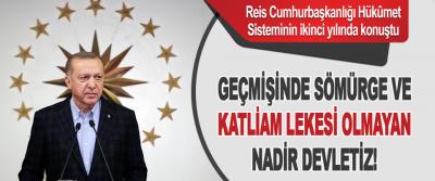 Reis Cumhurbaşkanlığı Hükûmet Sisteminin İkinci Yılında Konuştu