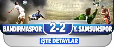 Royal Hastanesi Bandırmaspor 2–2 Yılport Samsunspor