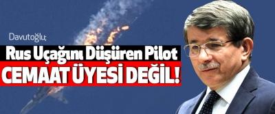 Rus Uçağını Düşüren Pilot Cemaat Üyesi Değil!