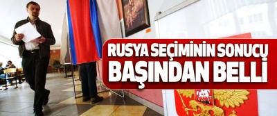 Rusya Seçiminin Sonucu Başından Belli