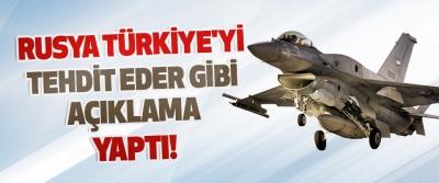 Rusya Türkiye'yi Tehdit Eder Gibi Açıklama Yaptı!