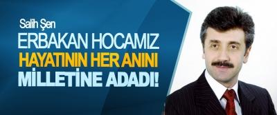 Saadet Partisi Samsun Büyükşehir Belediye Başkan Adayı Salih Şen:Erbakan hocamız hayatının her anını milletine adadı!