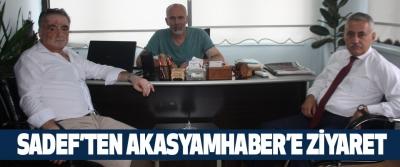 Sadef'ten Akasyamhaber'e Ziyaret