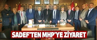 Sadef'ten Mhp'ye Ziyaret