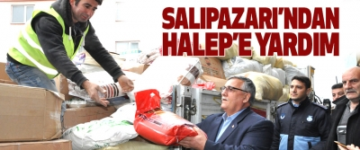 Salıpazarı'ndan Halep'e Yardım