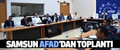 Samsun Afad'dan Toplantı