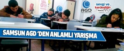 Samsun Agd 'Den Anlamlı Yarışma