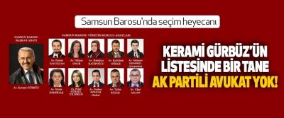 Samsun Barosu'nda seçim heyecanı