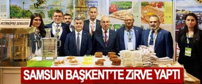Samsun Başkent'te Zirve Yaptı