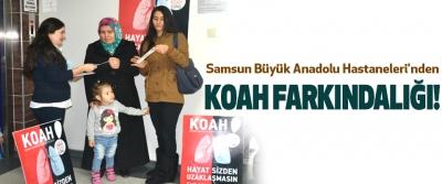 Samsun Büyük Anadolu Hastaneleri'nden Koah Farkındalığı!
