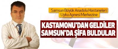 Samsun Büyük Anadolu Hastaneleri Uyku Apnesi Merkezinde şifa buldular