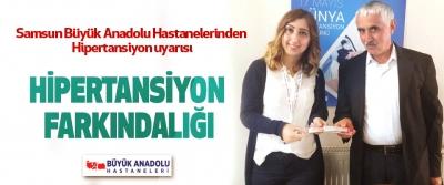 Samsun Büyük Anadolu Hastanelerinden Hipertansiyon uyarısı