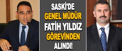 Samsun Büyükşehir Belediyesi Saski'de Genel Müdür Fatih Yıldız'ın Görevinden Alındı!