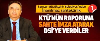 Samsun Büyükşehir Belediyesi'nden İnanılmaz sahtekârlık -1
