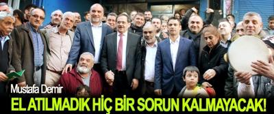Samsun Büyükşehir Belediye Başkan Adayı Mustafa Demir: El atılmadık hiç bir sorun kalmayacak!