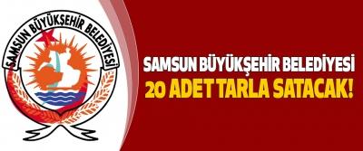 Samsun Büyükşehir Belediyesi 20 adet tarla SATACAK!