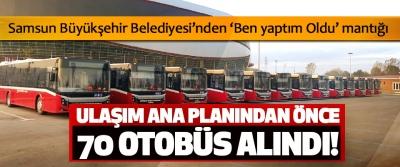 Samsun Büyükşehir Belediyesi'nden 'Ben yaptım Oldu' mantığı
