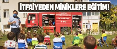 Samsun Büyükşehir İtfaiyeden Miniklere Eğitim!