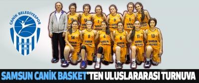 Samsun Canik Basket'ten Uluslararası Turnuva