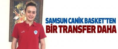 Samsun Canik Basket'ten Bir Transfer Daha