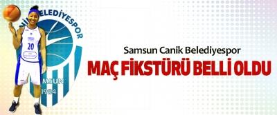 Samsun Canik Belediyespor Maç Fikstürü Belli Oldu